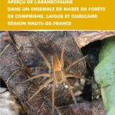 Rapport d'étude : Araignées des mares forestières de Compiègne, Laigue et Ourscamp 2017